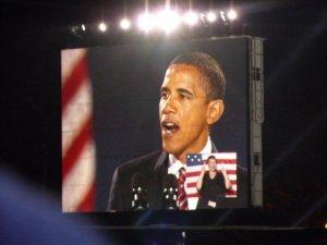 Obama at Grant Park