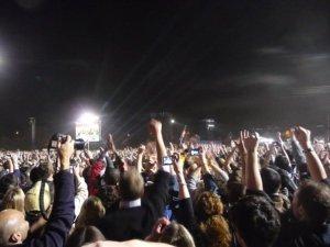 Grant Park 200000 cheering