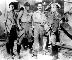 The four marx brothers in duck soup
