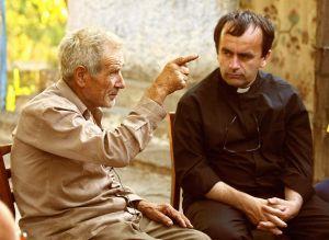 Father Desbois interviewing