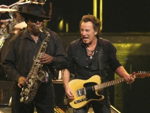 Bruce Springsteen and Clarence Clemons 2007