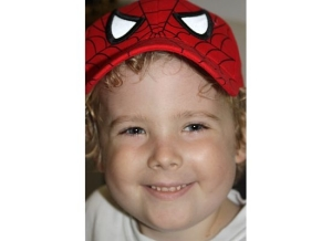 Noah as Spiderman on Steroids