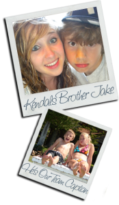 Kendal and Brother Jake