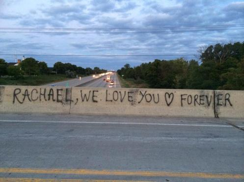 Rachael, We Love You Forever