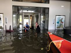 Flood in a Houston house