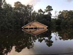 Houston Home in Water