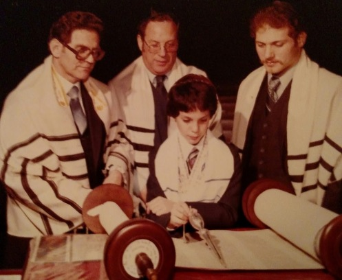 Kenny at his Bar Mitzvah 1982