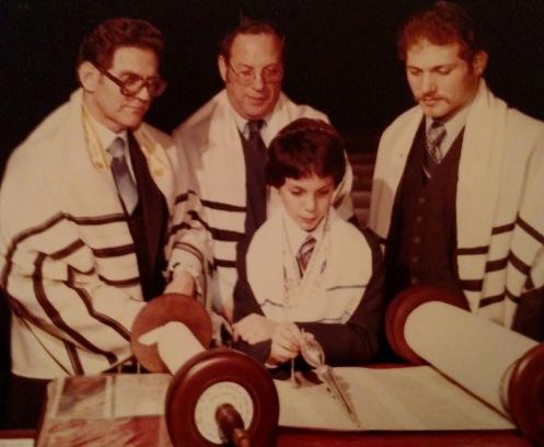 Kenny at his Bar Mitzvah 1982